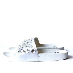 Fergalicious   Melinda Embellished Slide Sandal